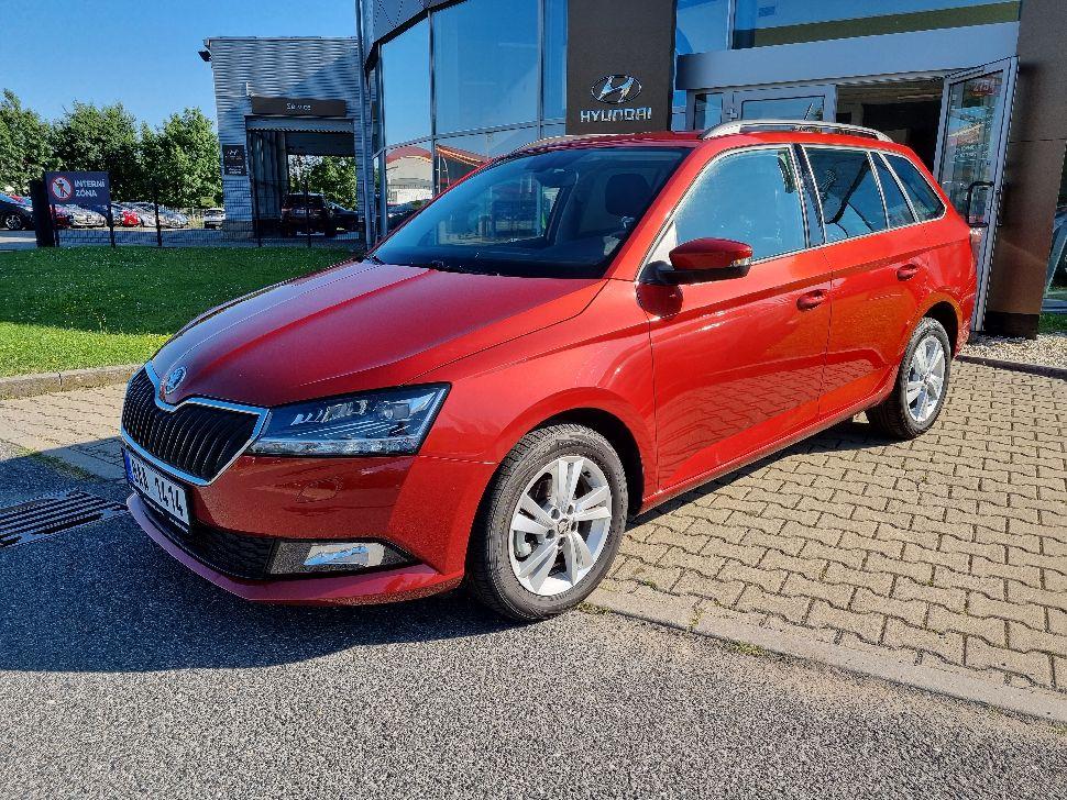 Škoda Fabia Combi 1.0 TSI Style Plus