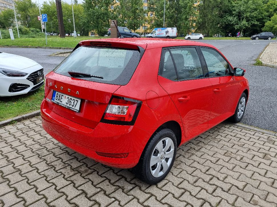 Škoda Fabia 1.0 MPi Active Plus