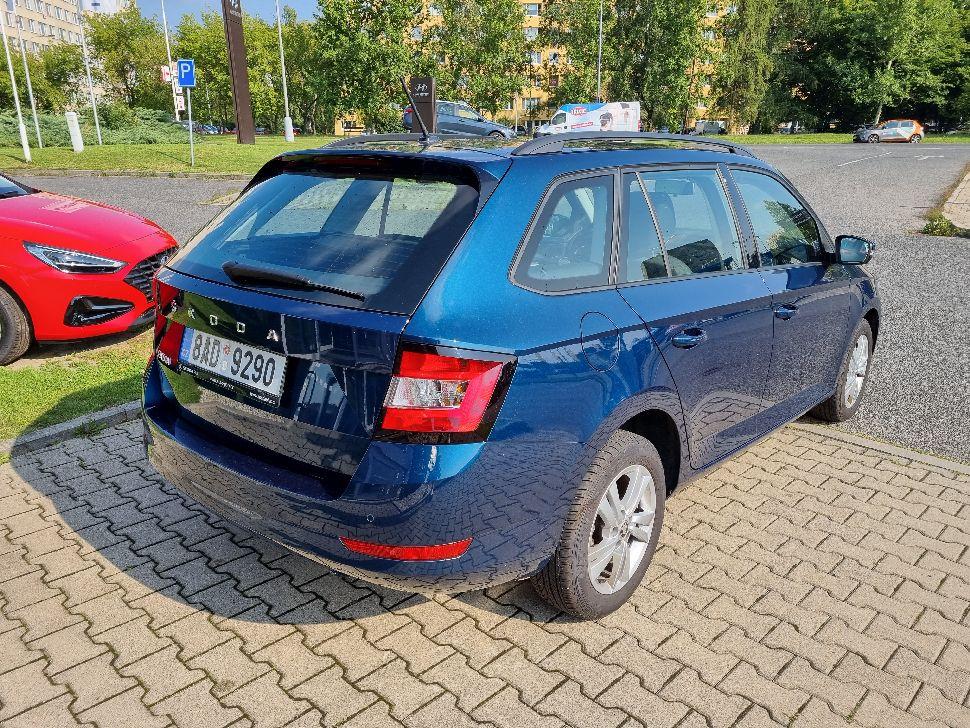Škoda Fabia 1.0 TSI Ambition Combi 81kW