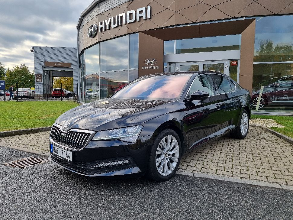 Škoda Superb 2.0 TDI DSG Ambition Plus